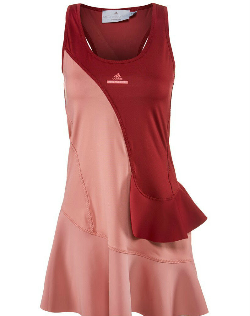 VENTE!Adidas Femmes Stella McCartney Barricade NewYork Tennis Robe & amp;Short!L
