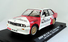FLY 038103 BMW M3 E30 Marlboro #43 4h. Jarama 1987 Brand New 1/32 Slot Car