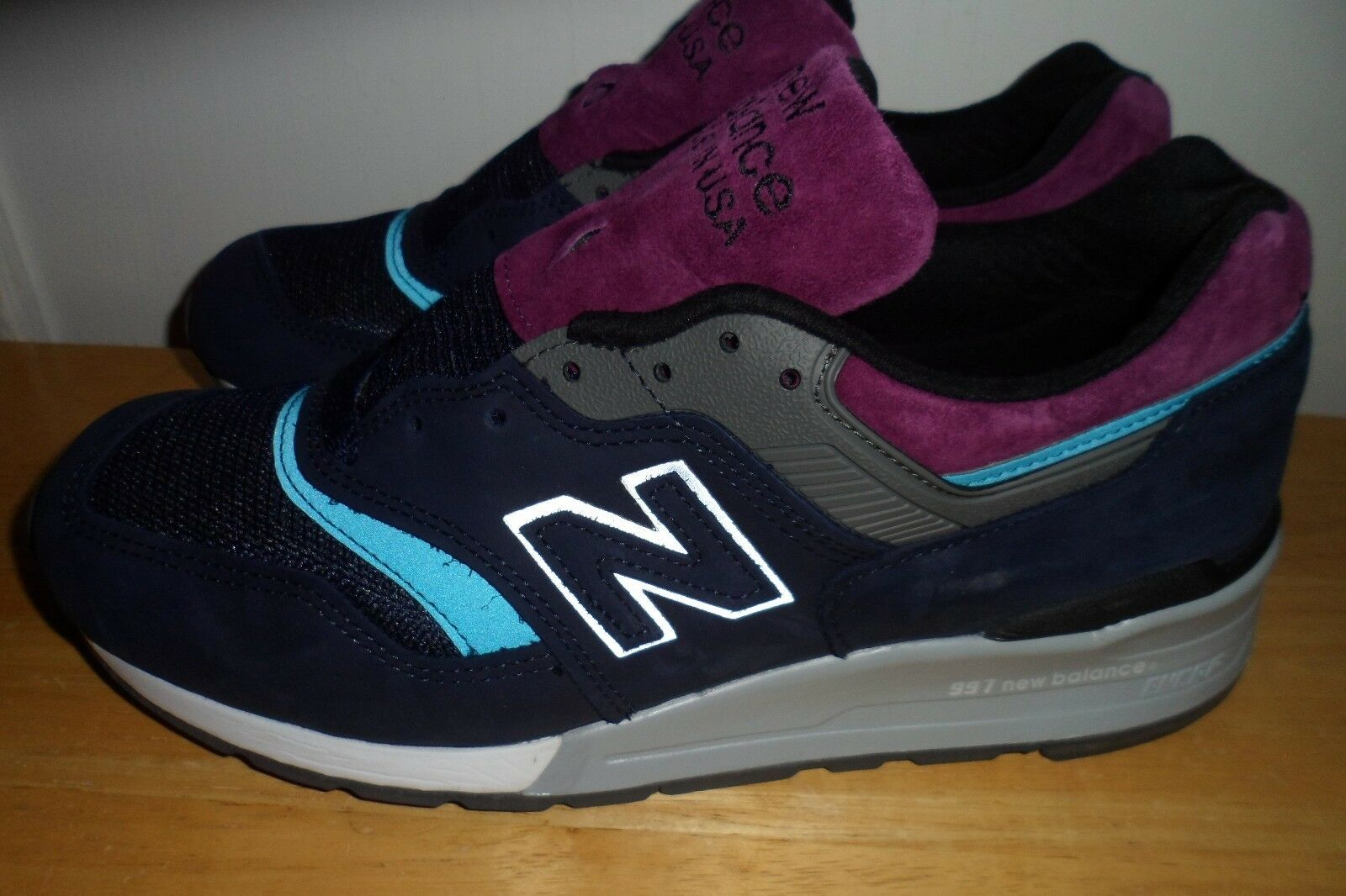 NEW BALANCE 997 MADE IN USA NORTHERN LIGHTS PACK NAVY BLUE GREY M997PTB 8.5 D