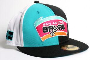 8751785624a San Antonio Spurs Hardwood Classics NBA 59Fifty New Era Fitted Hat ...