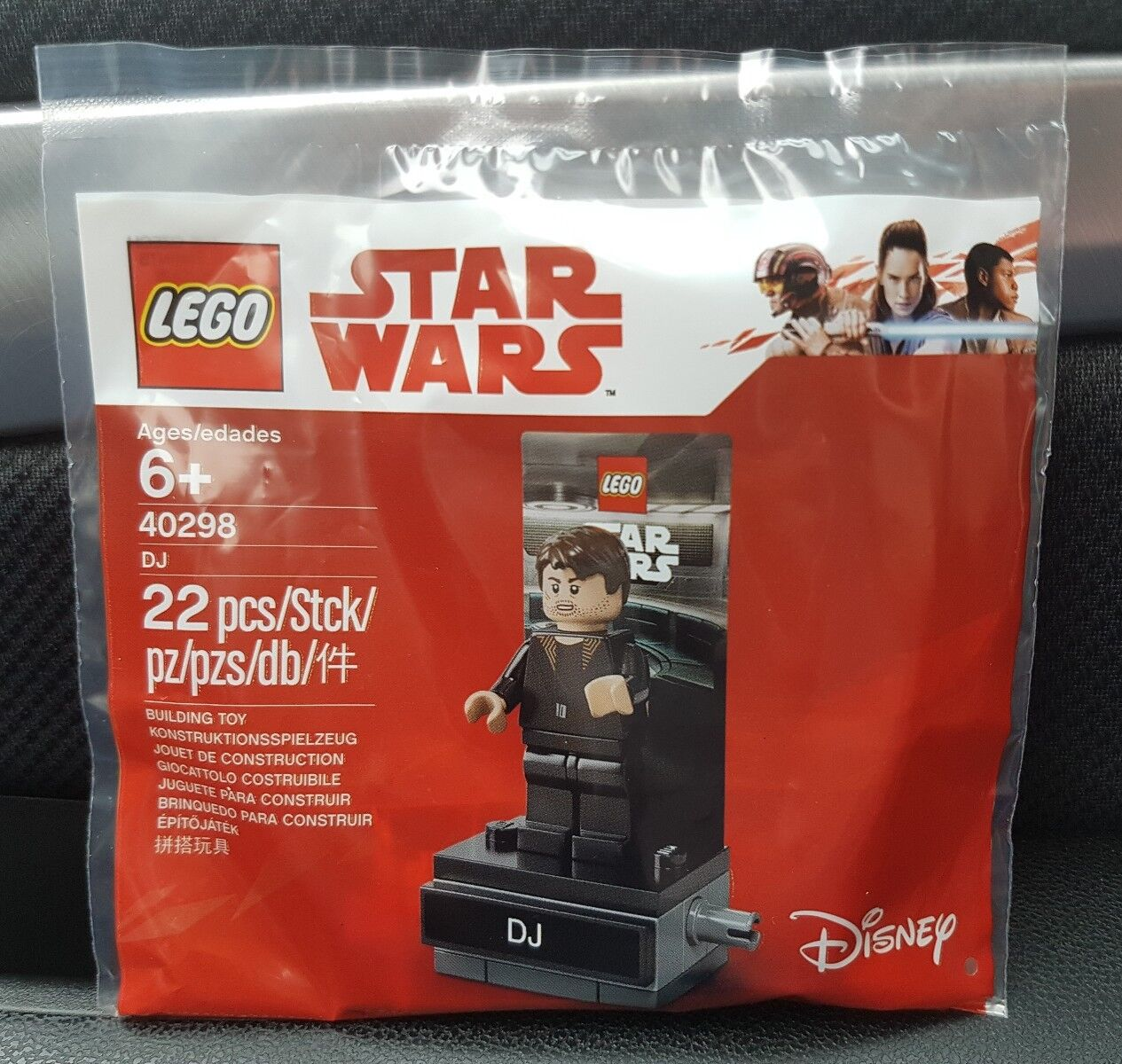 10 x LEGO Star Wars 40298 Polybag - DJ Code Breaker minifigure BRAND NEW sw903