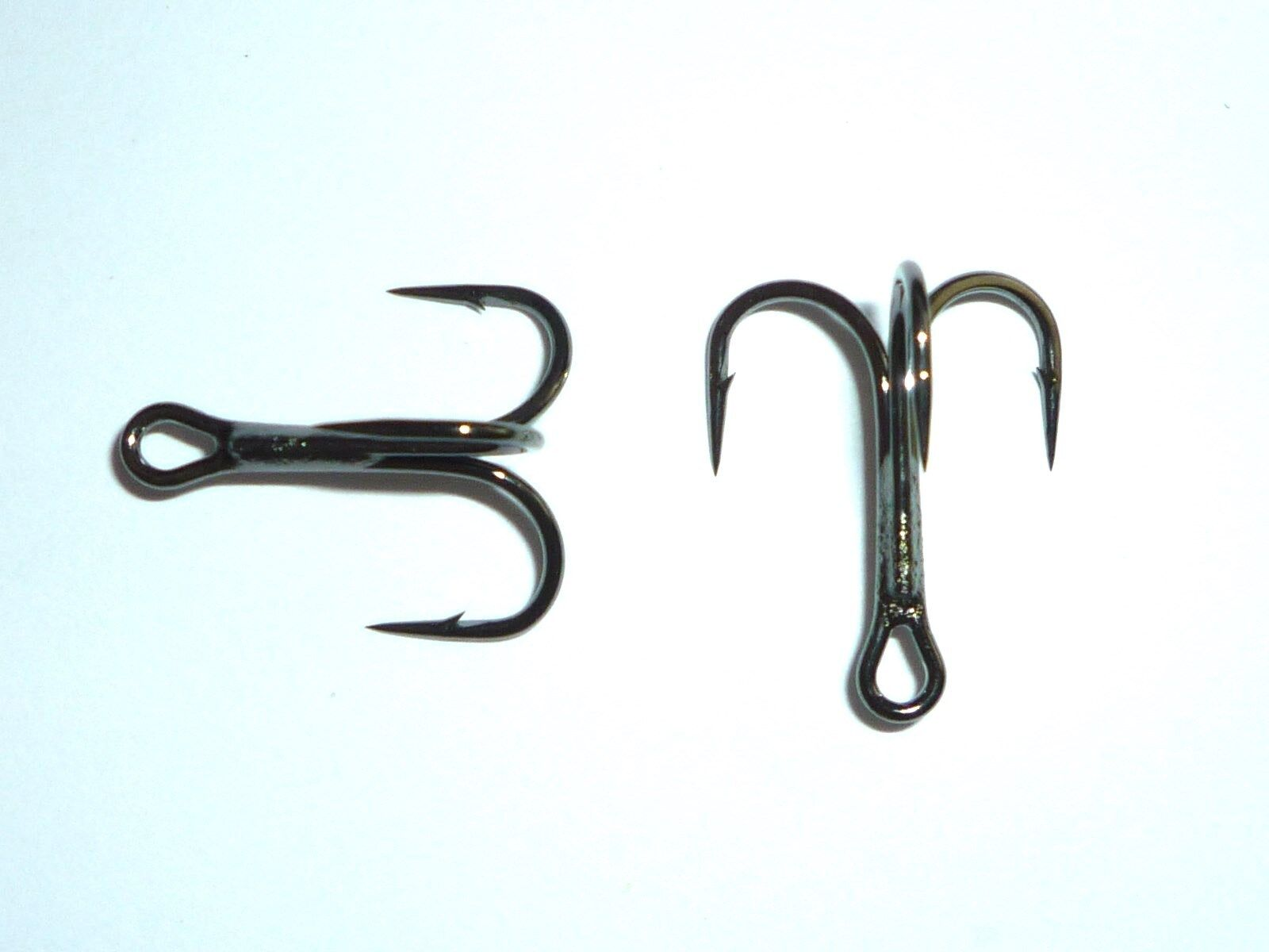 100 Mustad KVD-Elite Round-Bend 1X Treble Hooks (Size 2) TR78NP-BN UltraPoint