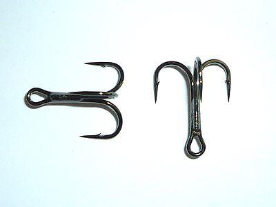 25 Mustad KVD-Elite Round-Bend 1X Treble Hooks TR78NP-BN UltraPoint Size 8