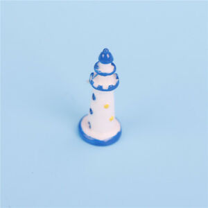 1pc-Mini-lighthouse-seaside-Miniature-Fairy-Garden-Ornament-Decor-Craft3C