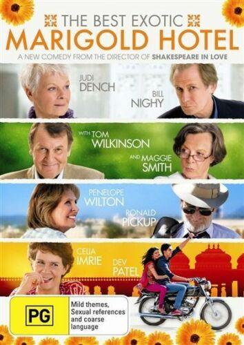 1 of 1 - THE BEST EXOTIC MARIGOLD HOTEL DVD=JUDI DENCH=REGION 4 AUSTRALIA=NEW AND SEALED