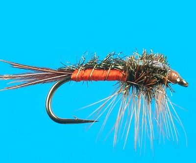 6 pcs Quill Gordon wet size 12