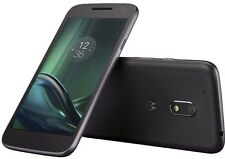 Motorola Moto G4 PLAY XT1604 -16GB 4G ~UNLOCKED~ BLACK Smartphone UK