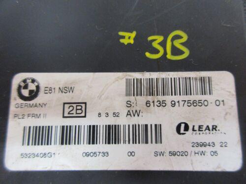 Genuine BMW Light Control Footwell Module Fits 1 Series E8X #ASHBOX 9175650