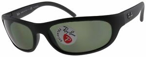 Ray-Ban-Predator-Sunglasses-RB4033-601S48-Black-Green-G-15-Polarized-Lens-60mm