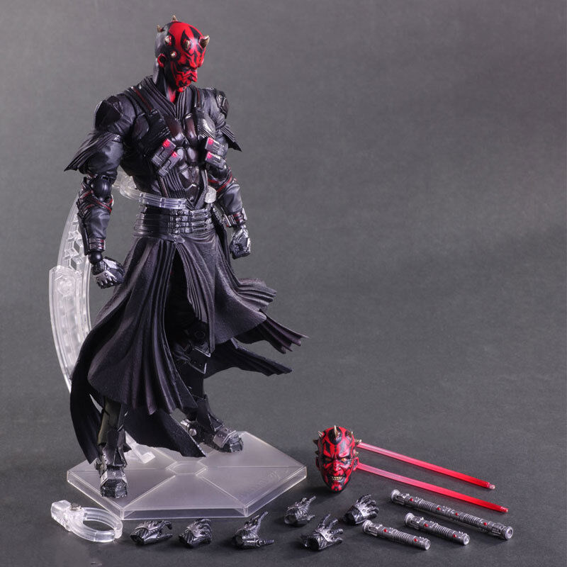 10.  star - wars - abbildung square enix variante spielen kunst kai darth maul action - figuren