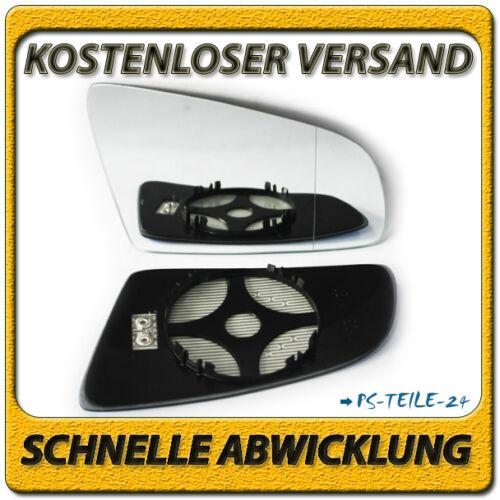 Spiegelglas für AUDI A4 B6//B7 Avant 2001-2008 rechts beheizbar elektrisch
