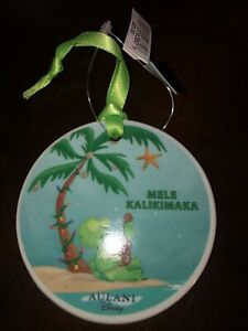 *Brand New* Disney Aulani Duffy Friends Olu Turtle Stella Lou Christmas Ornament