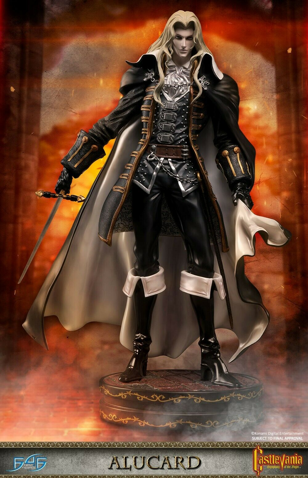 CASTLEVANIA  SYMPHONY OF THE NIGHT - ALUCARD (REGULAR) FIRST4FIGURES SIGILLATO