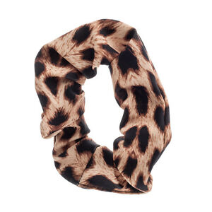 67bb888885cf Girls Ladies Variety Of Animal Prints Nylon Hair Scrunchie Fancy ...