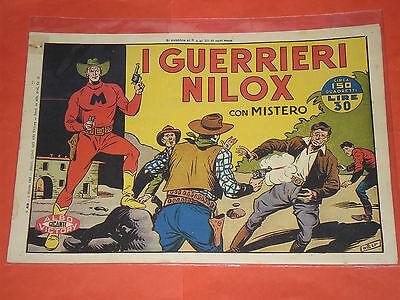 MISTERO ALBO GIGANTE RARA SERIE  N° 43  - ORIGINALE ALBI VICTORY 1947 -no RAGAR