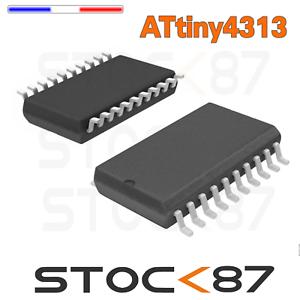 ATtiny4313 1572# 1 à 10pcs  ATtiny4313-SU microcontrôleur SMD 20-SOIC