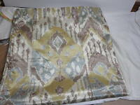 Raymond Waites Tao Fabric Shower Curtain 70x72 Sage/aqua