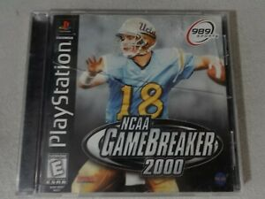 NCAA-Gamebreaker-2000-Playstation-One-PS1-PSX-Game-Complete-Free-Ship