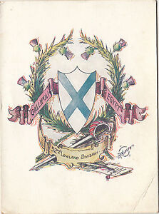 image is loading ww1 gallipoli 1917 scottish 52nd lowland division new