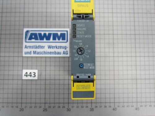 Abb. 443 Siemens Motorstarter 3RM1102-1AA04