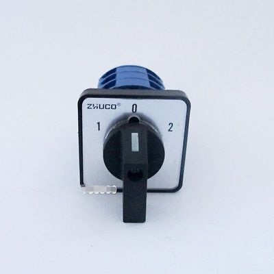 1-0-2 on-off-on 1PCS Combination Switch AC 440V 240V 20A 4 Terminal 3 Position