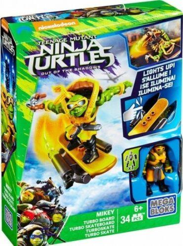 Mega Bloks Teenage Mutant Ninja Turtles Mikey/'s Turtbo Board