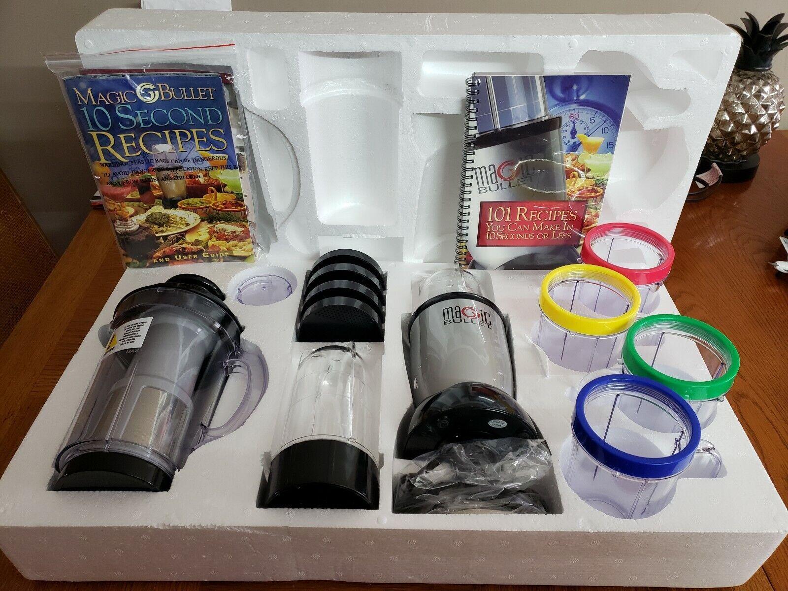 Magic Bullet -- complet ensemble 21 pièces avec centrifugeuse. Neuf sans boîte