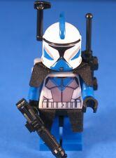 LEGO® Parts STAR WARS™ Custom 501st CLONE COMMUNICATIONS OFFICER +Pack & Blaster