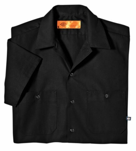 IRON CROSS SKULL WORK SHIRT DICKIES BUTTON UP GARAGE