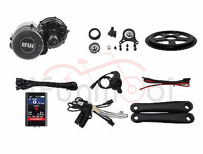 Bafang/8Fun BBS02 48V 750W Mid-Drive Motor E-Bike Conversion Kits with  Color LCD | eBay