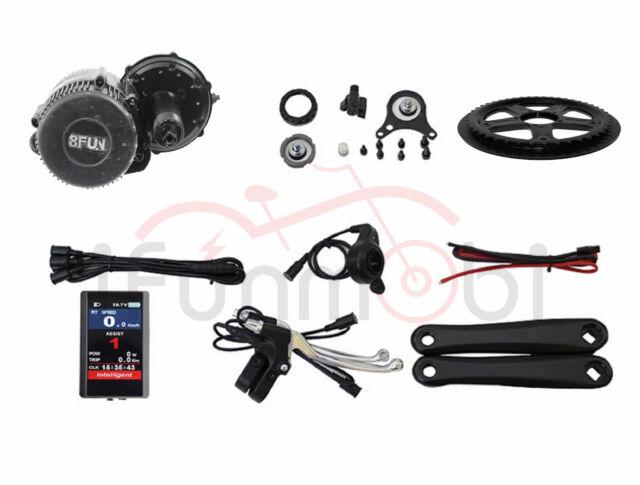 48V 500W BAFANG 8FUN BBS02B ebike Mid-Drive Motor Electric Bike Conversion Kit