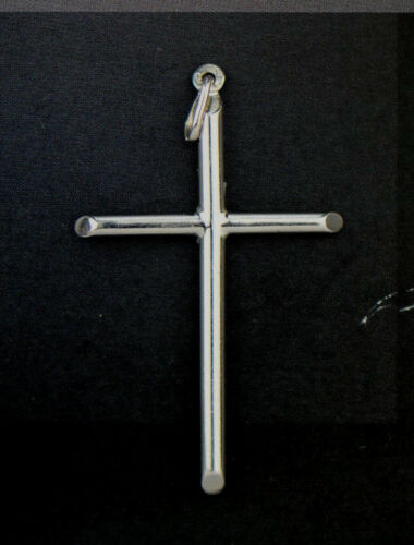 Argent Sterling Pendentif Croix 925