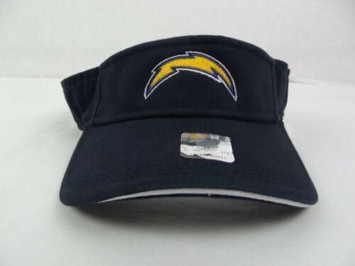 Chargers Los Angeles Visor Hat NFL Licensed Football Lightning Bolts Football