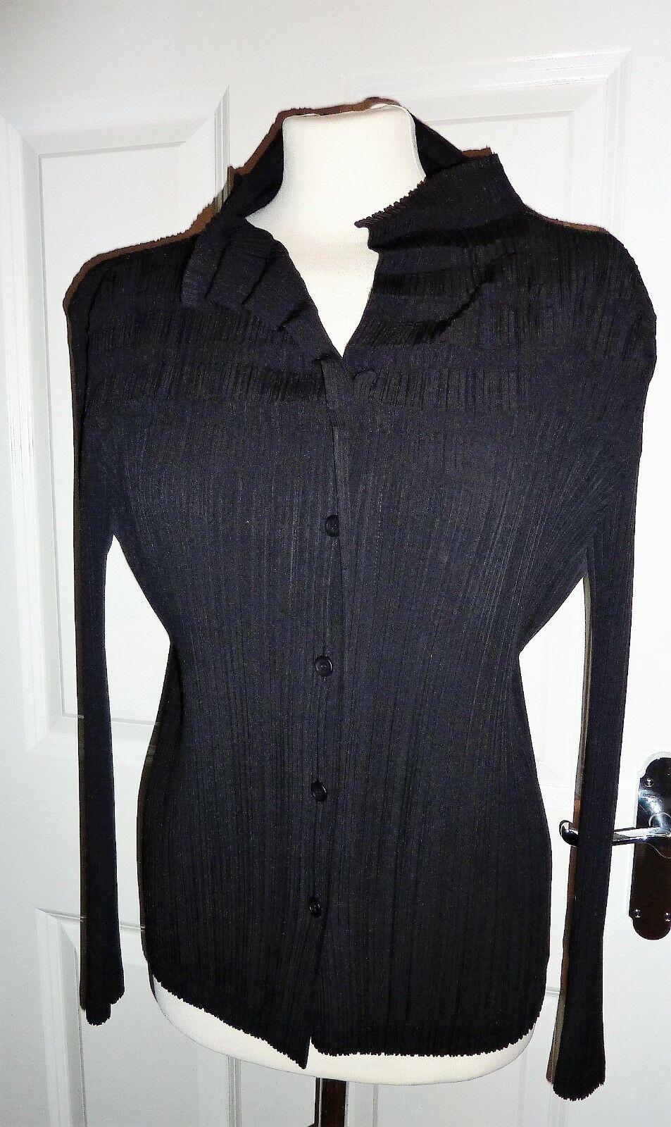 Issey miyake pleats shirt size 12-14