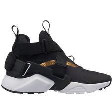 a4142c67e66297 Nike Huarache City Size 4y Women s 5.5 Black Metallic Gold White Aj6662 005