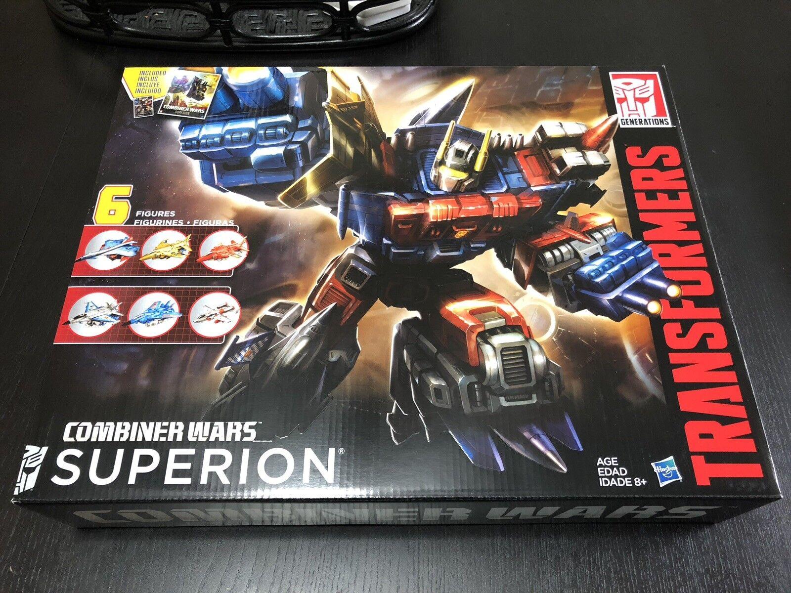 Transformers G2 generaciones Combinador guerras Superion Menta en Caja Sellada