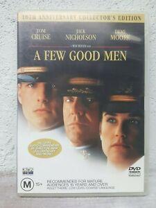 A-Few-Good-Men-DVD-2001-R4-Tom-Cruise-Terrific-Condition-Drama