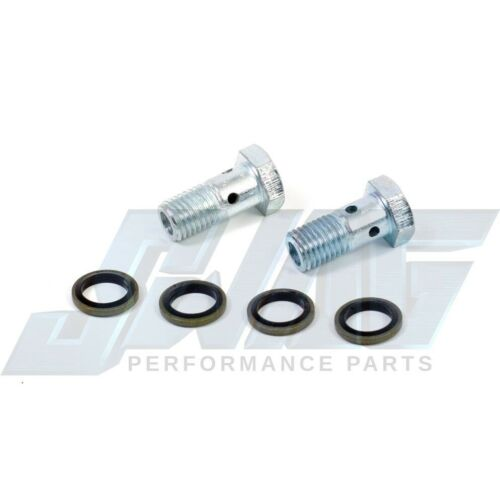 03-10 For 6.0L Powerstroke Diesel Updated Banjo Bolts /& Washers 6.4L Upgrade