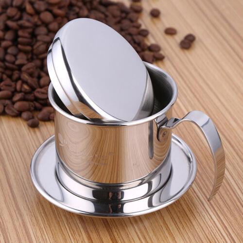 1 stück Topf Edelstahl Vietnam Kaffeemaschine Tropffilter Maker Brewer 7,5