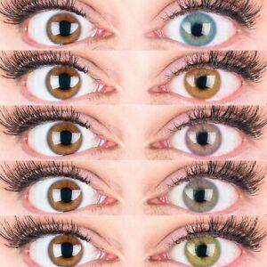 Augen blaue grün grau Was Augenfarben