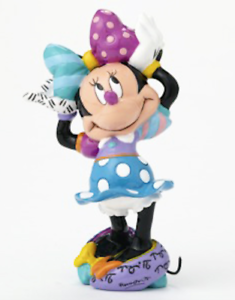 NEW Official Disney Minnie Mouse Collectable Mini Figurine Britto FREE AU POST!