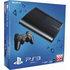 Sony PlayStation 3 super Slim Ps3 500 GB 2 Controller spiele