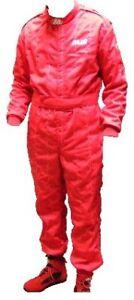combinaison FIA MIR rouge Taille 46 (s)  Homologation FIA 8856-2000 rs06404