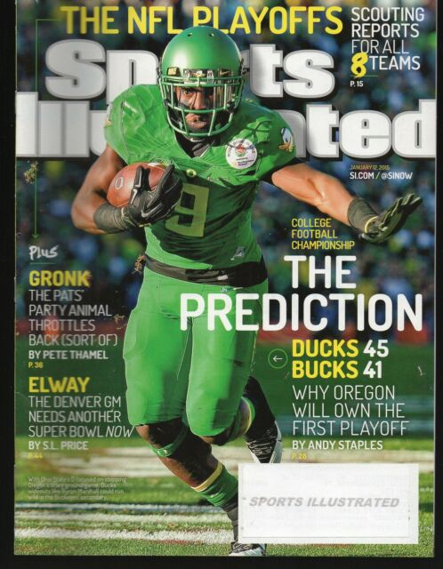 2015 Sports Illustrated Oregon Ducks Byron Marshall Subscription Issue NR/Mint