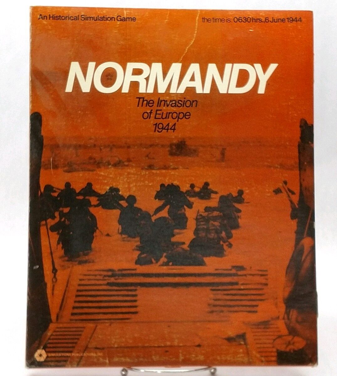 SPI Wargame Normandy The Invasion of Europe 1944