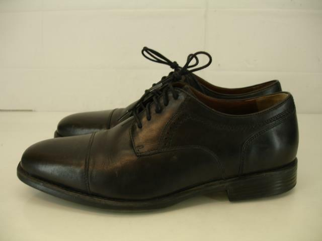esclusivo Johnston & Murphy Uomo 10.5 M M M XC4 Branning Cap Toe Oxford scarpe nero Waterproof  prezzi eccellenti