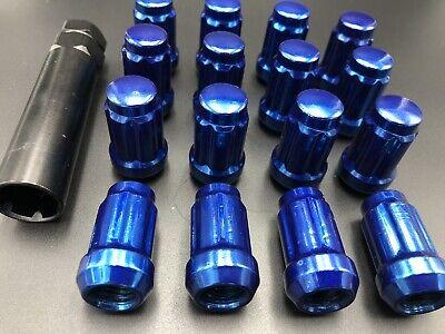 Set of 16 ITP Black Lug Nuts 12mm x 1.5 w// Socket Polaris RZR S 900 2015+