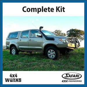 Details about Safari V-Spec Snorkel Kit Toyota Fortuner 4 0 Petrol 2015-on