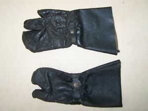 Old-GDR-Motorcycle-Gloves-Ts-Ets-ETZ-Gloves-Emw-Awo-simson-Mz-Leather