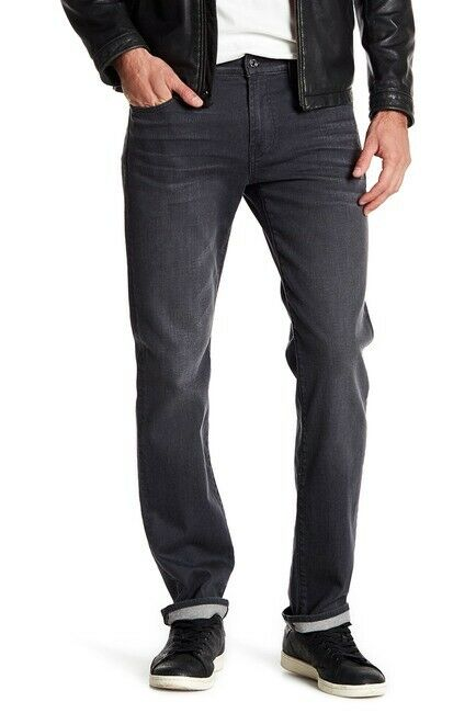 7 For All Mankind Porter Grey STANDARD Size 30 Denim Jeans Inseam 33    84 cm